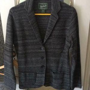 Woolrich blazer style cardigan